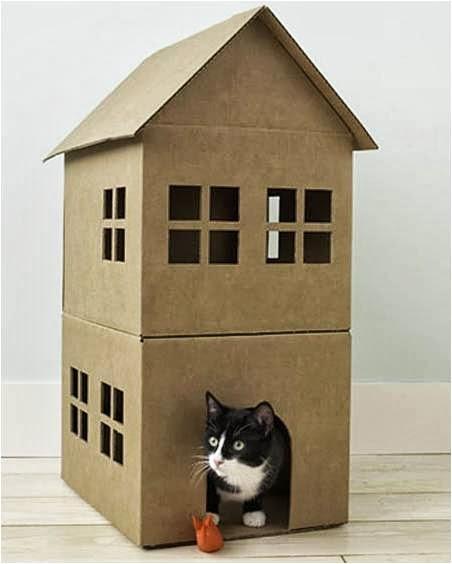 cardboard-cat-house